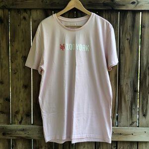 ZOO YORK unisex pink XL short sleeve t shirt